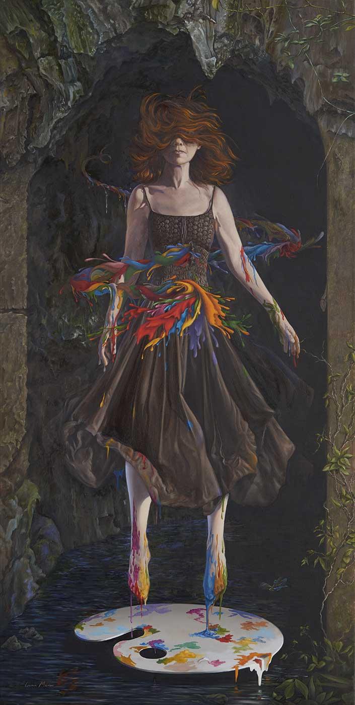Imma-Merino art & painting Realism