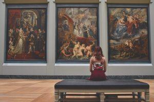Arte femenino en museos