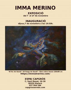 Exposició pintura realista Inma Merino