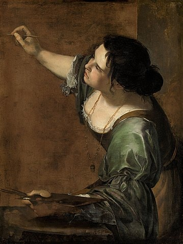 Mujer Artista Artemisia Gentileschi