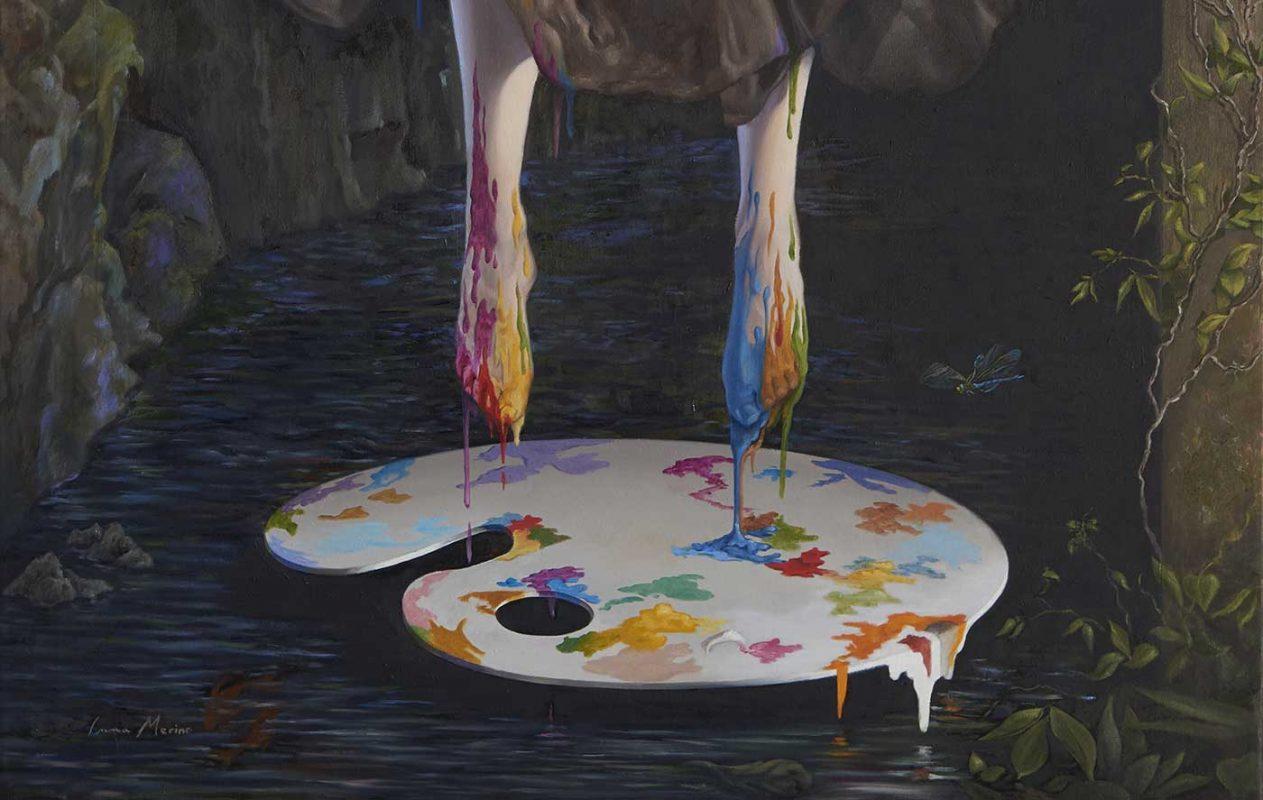 Inma Merino-Detalle- arte y pintura